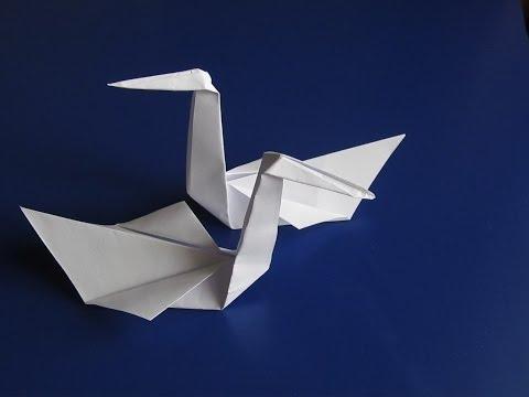 Оригами орел своими руками