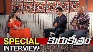 Kurukshethram Movie Interview   Action King Arjun   Arun   Darshan   Srikanth   TVNXT Hotshot - MUSTHMASALA