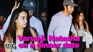 What BREAKUP! Varun& Natasha on a dinner date - IANSLIVE