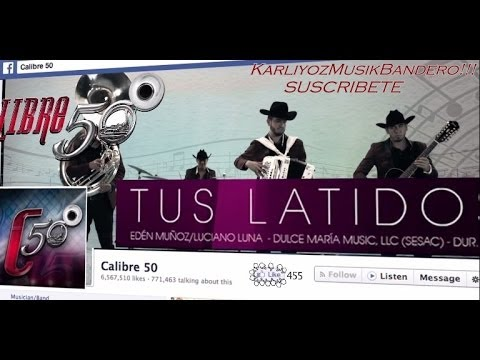 Calibre 50 - Tus Latidos (Vídeo Official 2014!!!)