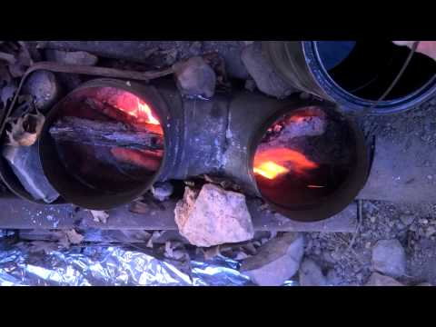 Dakota Fire Hole Trench Rocket Stove For Tent, Tipi, Yurt -Part Three