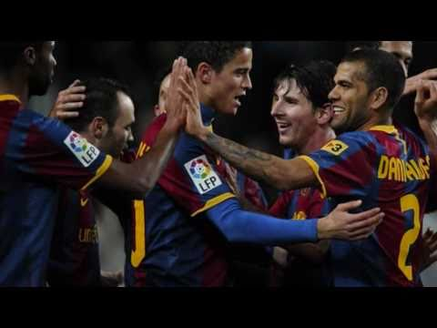 Barcelona vs Betis 5 0 All goals & Amazing Messi Hattrick 12 01 2011 Copa Del Rey