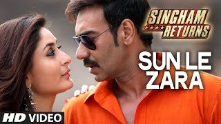 Sun Le Zara Video Song | Singham Returns | Ajay Devgn Kareena Kapoor - TSERIES