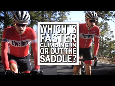 Which is faster - climbing in or out the saddle? | Cycling Weekly
