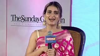 Women Of Steel Summit: Fatima Shaikh says, My mom wanted her kids to be an actor - NEWSXLIVE