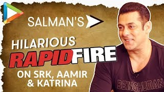Salman Khan's DHAMAKEDAR Rapid Fire On Shah Rukh Khan, Aamir Khan & Katrina Kaif | NOTEBOOK - HUNGAMA