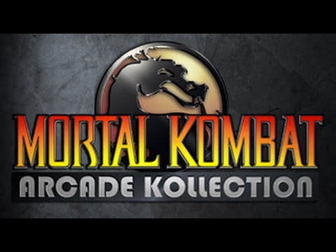 Mortal Kombat Arcade Kollection on PS3 in HD 1080p Part (1 of 3)