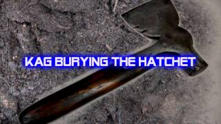 Royalty Free :Kag Burying the Hatchet