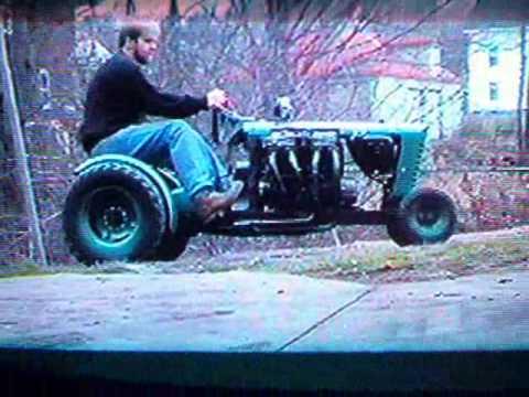 Fast Garden Tractor