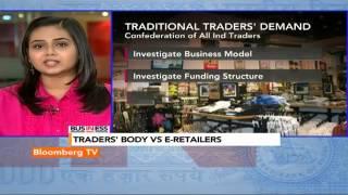 In Business- Traders' Body Vs E-Retailers - BLOOMBERGUTV