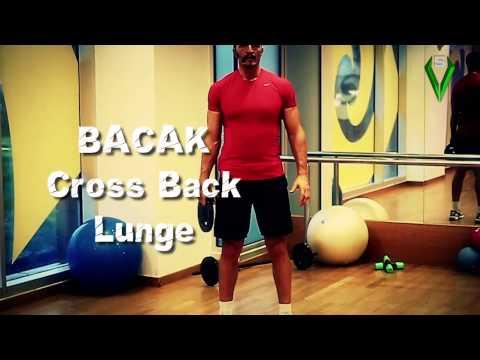 Bacak Egzersizleri (Cross Back Lunge)