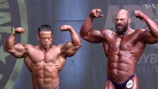 Athletes Compete at Arnold Classic Bodybuilding Festival - VOAVIDEO
