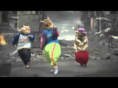 Kia Soul Commercial 2011 - Dancing Hamsters For Ten Minutes