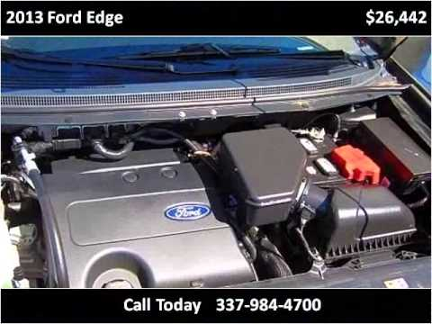 2013 Ford Edge Used Cars Lafayette LA