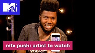 Khalid On Being Featured on 'Rollin' by Calvin Harris & More | Push: Artist to Watch | MTV - MTV