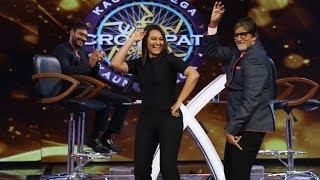 Action Jackson Promotions on KBC – Ajay Devgan-Sonakshi Sinha - IANSINDIA