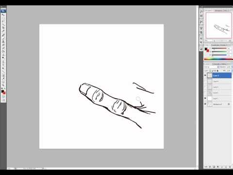 McFarlane Art Lesson - No. 3 (How to Draw Realistic Fingers)