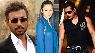 Bollywood News in 1 minute - Salman Khan, Alia Bhatt, Irrfan Khan
