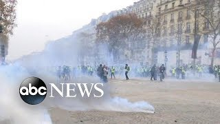 More protests underway in Paris - ABCNEWS