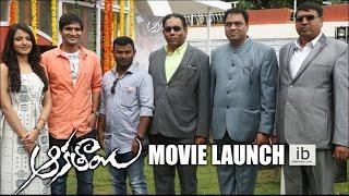 Aakatayi movie launch   Asish Raj   Ruxer Mear - idlebrain.com - IDLEBRAINLIVE