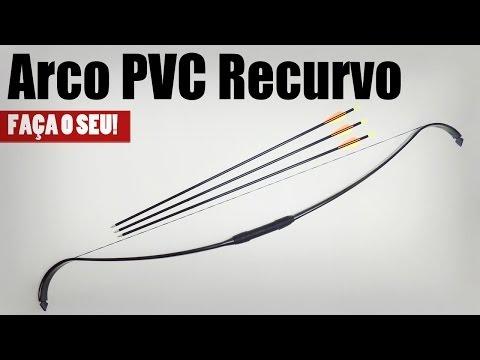 Arco Recurvo de PVC menos de R$20,00 - Faça o seu!