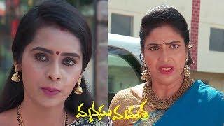 Manasu Mamata Serial Promo - 12th November 2019 - Manasu Mamata Telugu Serial - MALLEMALATV