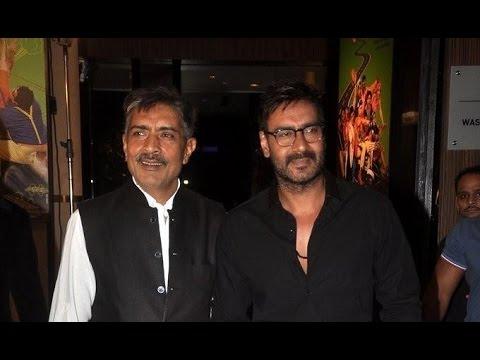 Ajay Devgn Launches Prakash Jha's New Films