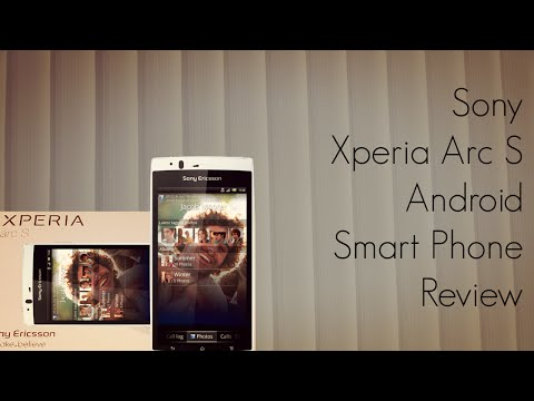 Sony Xperia Arc S Review - Android Smart Phone with 3D Video Recording