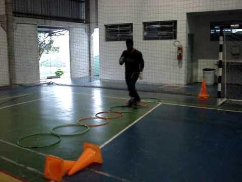 6) TREINAMENTO GOLEIROS FUTSAL GOALKEEPER TRAINING(PROF. TIAGO PONTES)
