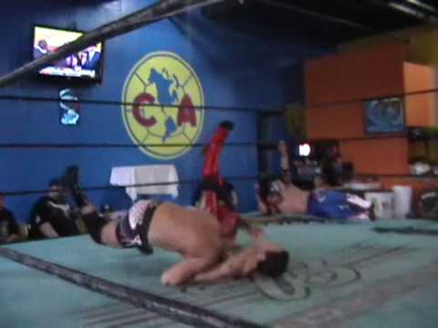 GALLI Lucha Libre: The H3RD vs. Too Sweet (Mixed Wrestling: Tag Team Match)