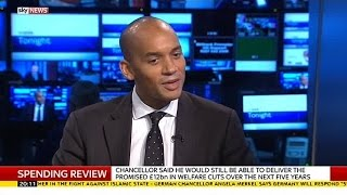 Chuka Umunna Says Tax Credits U-Turn Is A Labour Victory Too - SKYNEWS