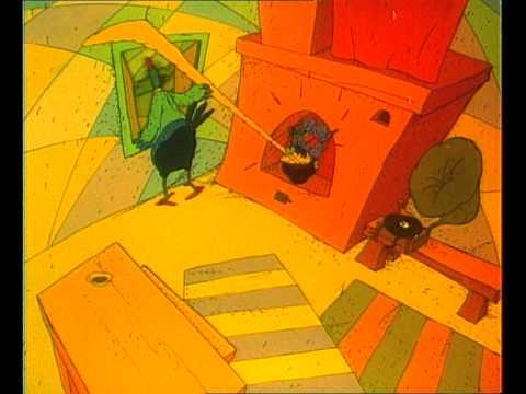 Кадр из мультфильма «Кибиточка на одном колесе»