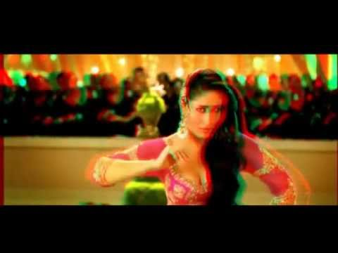 3D dil mera muft ka kareena kapoor in 3d - saifi ali khan-agent vinod-3d video song....
