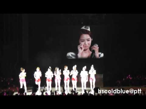 8-4 [Fancam] 110911 YoonSic - Talk @ 2nd Asia Tour Taiwan