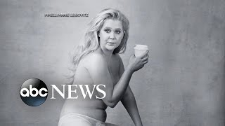 Amy Schumer Goes Semi-Nude for Calendar Shoot - ABCNEWS