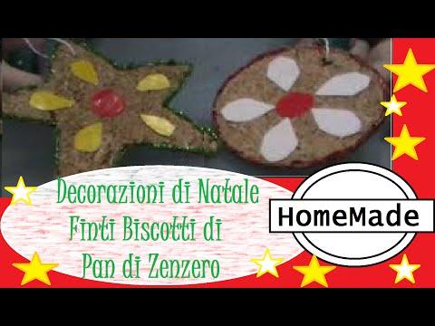 DIY - Addobbi per l'Albero di Natale - Biscotti di Pan di Zenzero