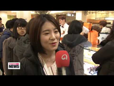 Sweet treat craze over dessert market in Korea