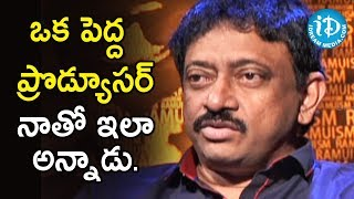Director Ram Gopal Varma About The Scope Of Jealousy | Ramuism 2nd Dose - IDREAMMOVIES
