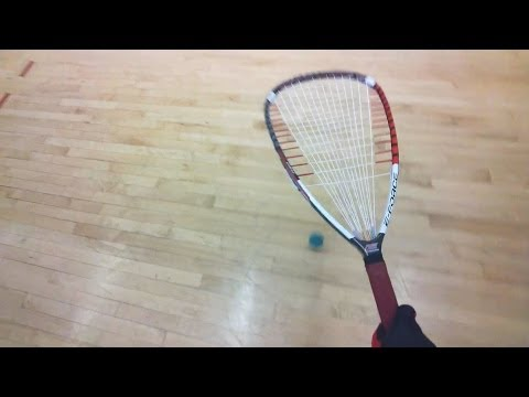 Racquetball POV with Google Glass