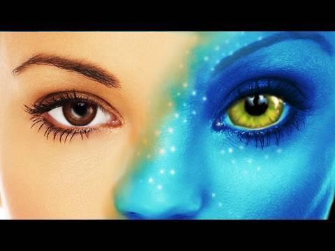 Avatar Navi в Adobe Photoshop CS4
