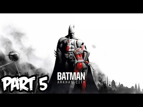 Batman Arkham City Walkthrough Part 5 HD - GIVEAWAY!! - Save the Doctor! (Xbox 360/PS3/PC Gameplay)