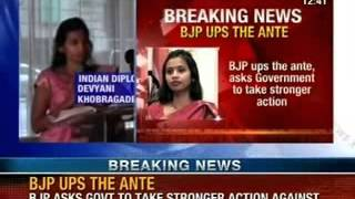 NewsX: Devyani Khobragade case- Yashwant sinha has said it is time for reciprocity over - NEWSXLIVE