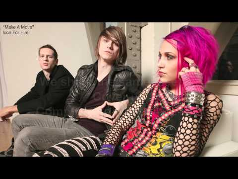 "Icon For Hire ""Make A Move"" (Lyric Video)"