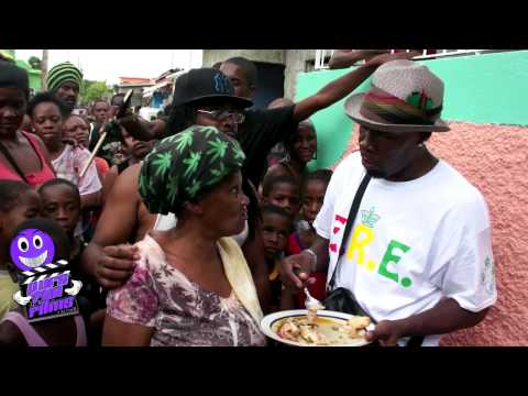 Shabba Ranks Visit His Home Town Seaview Garden Jamaica Pure Fun Films