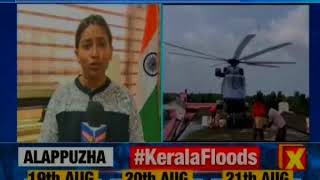 Kerala Floods: Rescue ops continues in all parts of state; most of the districts on orange alert - NEWSXLIVE
