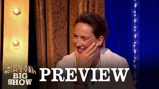 Was Miranda Hart's awkward text sent from Buckingham Palace? - Michael McIntyre's Big Show - BBC - BBC