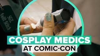 Meet the heroes who volunteer to repair cosplay malfunctions - CNETTV