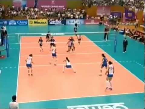 SET4 FIVB World Grand Prix 2012 Thailand vs Serbia (23 June 2012)