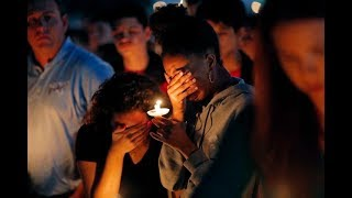 Families Gather at Florida Shooting Vigil | NYT - THENEWYORKTIMES