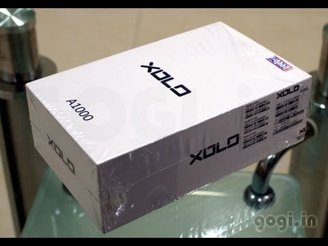 XOLO A1000 review and unboxing - MT6577 with 1080p video recording capabilities